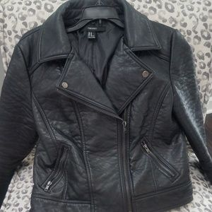 Forever 21 Jackets| Faux Leather